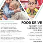 Community Service Day Food Drive
